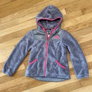 The North Face Girls Fleece Jacket size 6